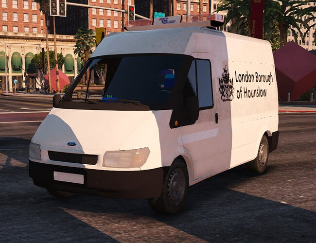 FiveM script London Borough Council Van ELS Releases