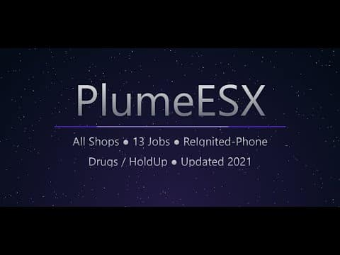 FiveM script RECIPE PlumeESX full base 2021 Releases
