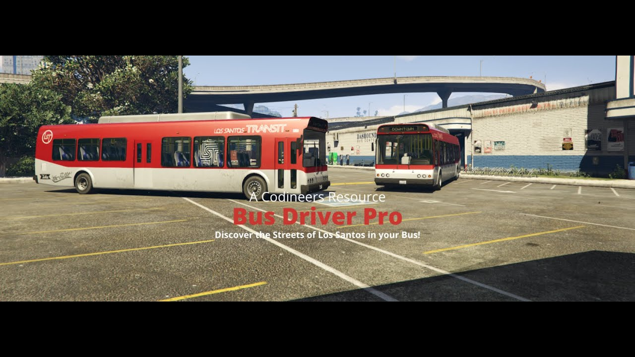 FiveM script ESXNON ESX Bus Driver Pro The Ultimate Bus Driving