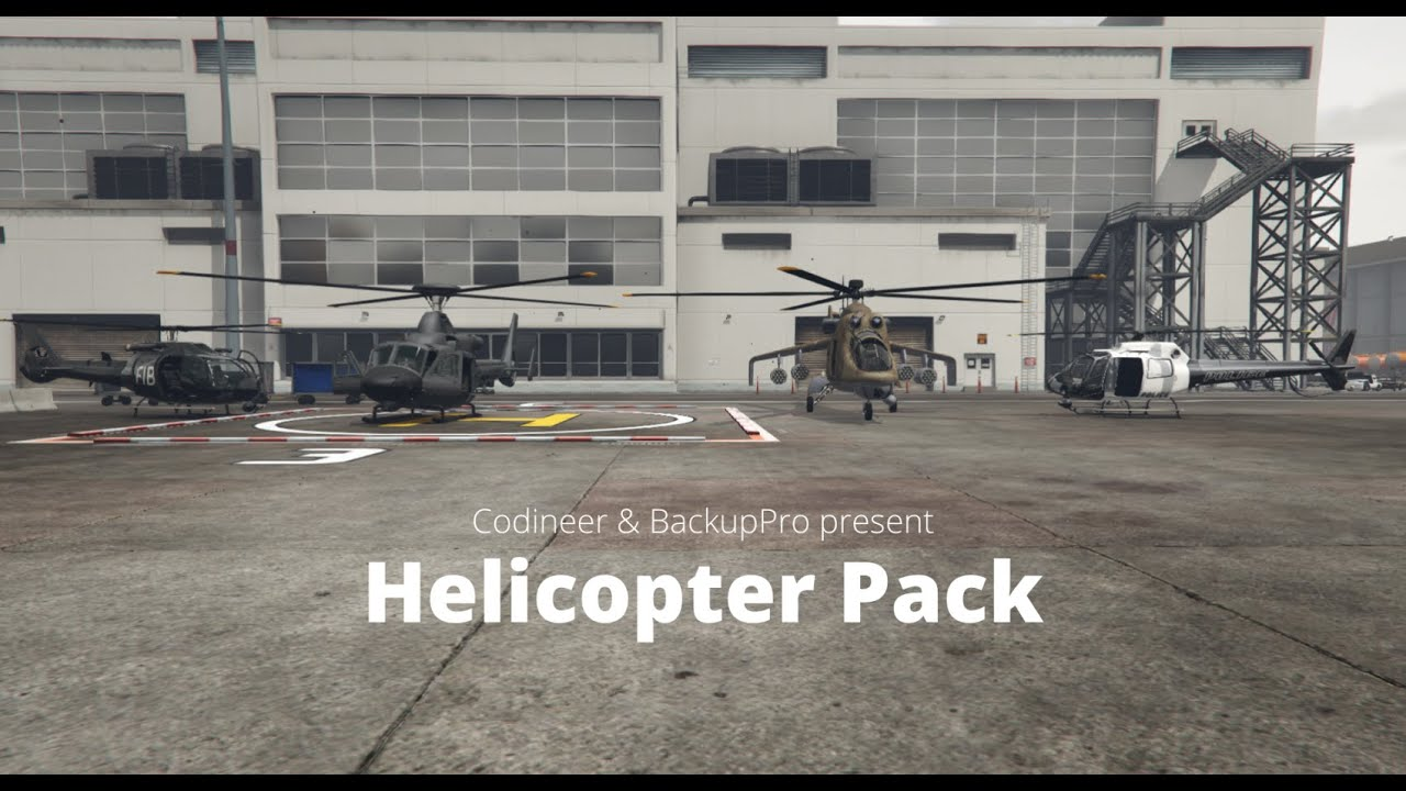 FiveM script Helicopter AI NPC Backup BackupPro Helicopter Pack Releases