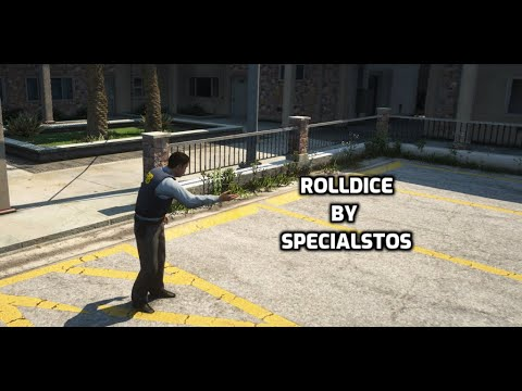 FiveM script STANDALONE RollDice by SpecialStos Works withwithout OneSync Releases