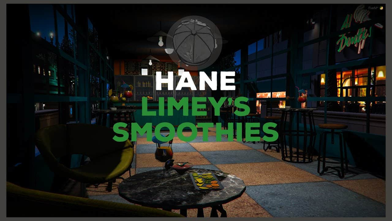 YMAP Limeys JuiceSmoothies Cafe Releases