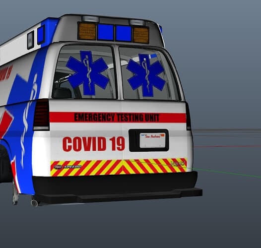 FiveM script Covid 19 ems car simple but really good Releases