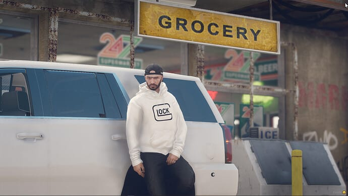 FiveM script FiveM MP GLOCK Perfection Hoodie Pack White Releases