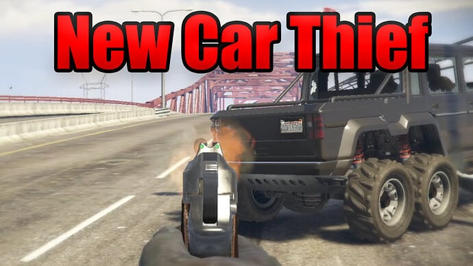 NEW Car Thief Releases