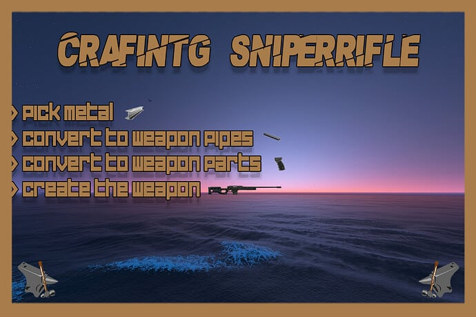 FiveM script Sniperrifle Crafting Releases Cfxre Community
