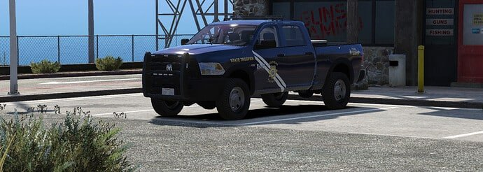 2016 Ram 1500 Nevada State Police Based Releases