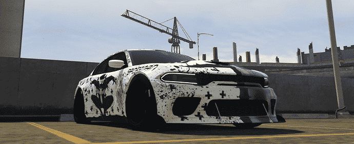 Dodge Hellcat Stanced with little Hydrulics Releases
