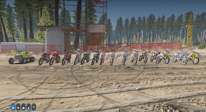 MX and Supermoto Pack converted for FiveM Releases
