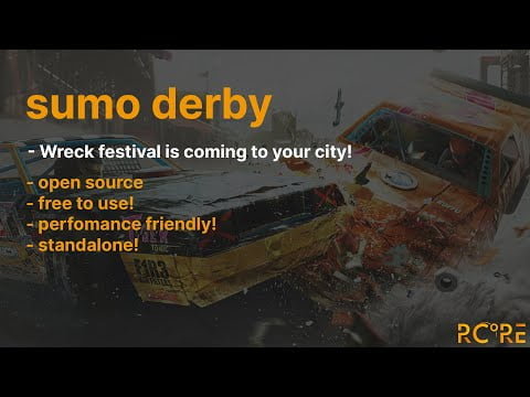 Wreck festival alias car derby is coming to your city