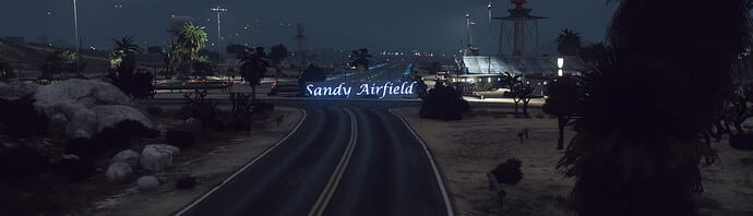 Release Sandy Shores Airfield Sign Releases